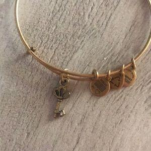 Alex and Ani Jewelry - Alex & Ani Key Charm Bracelet